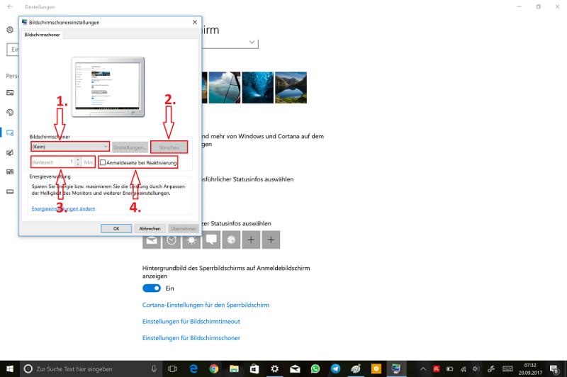Windows-Einstellungen-Personalisierung-Sperrbildschirm-Einstellungen-für-Bildschirmschoner-Bildschirmschonereinstellungen.png