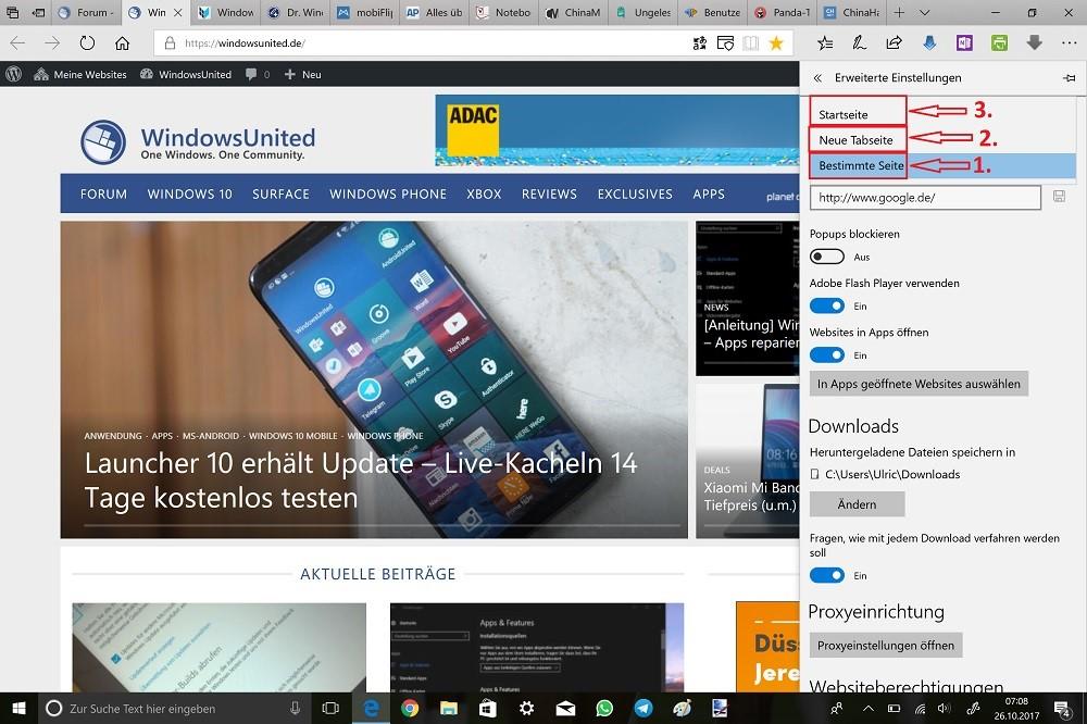 Mivrosoft-Edge-Einstellungen-Erweiterte-Einstellungen-anzeigen-Schaltfläche-Start-anzeigen-Auswahlmenü.jpg
