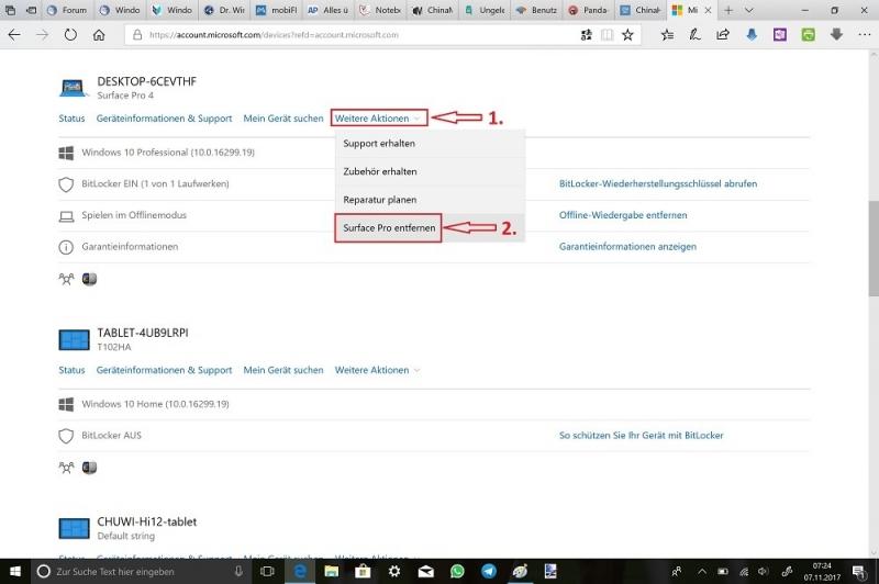Microsoft-Edge-Microsoft-Account-Webseite-Anmelden-Alle-anzeigen-Weitere-Aktion-Surface-Pro-entfernen.jpg
