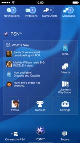 Playstation App Windows Phone