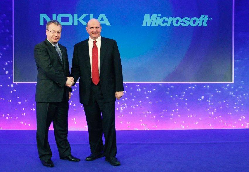 Microsoft und Nokia