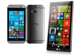 HTC-Render Windows Phone LG