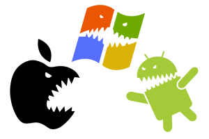 Apple vs Windows vs Android