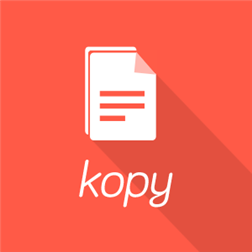 Kopy-App-Windows-Phone