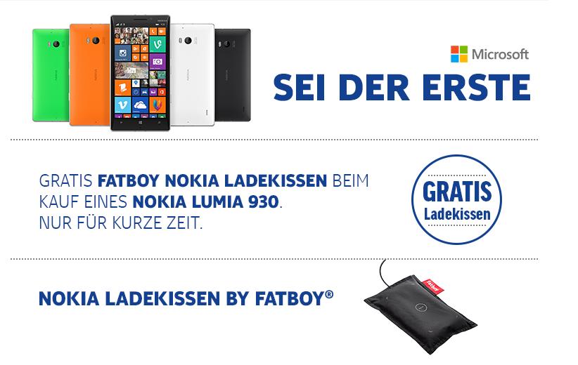 Nokia Lumia 930 + Fatboy