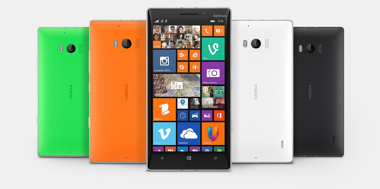 Nokia Lumia 930 Familie