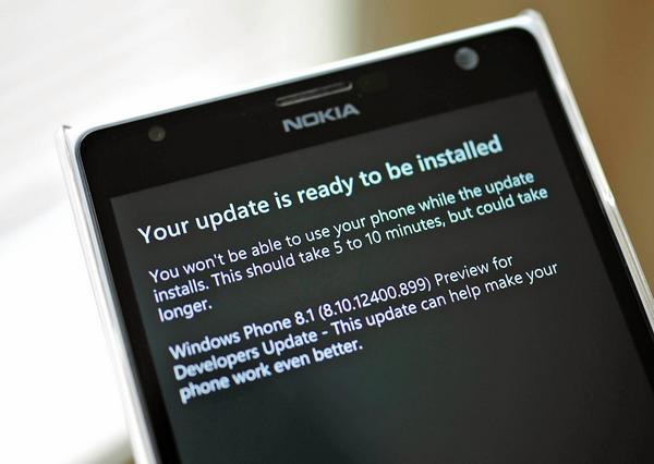 Windows Phone Dev-Preview Update