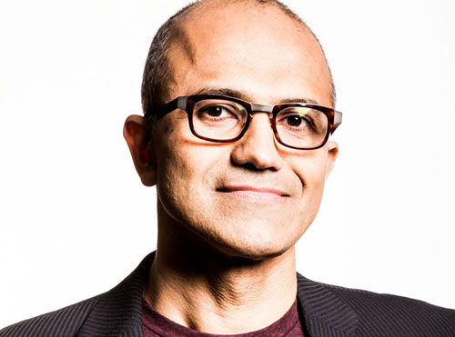 Microsoft Chef Satya Nadella