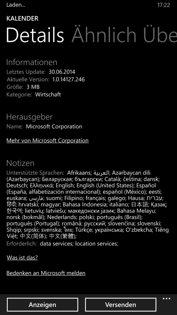 WindowsPhone_Kalender_Update_Bug