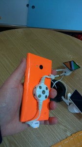 Lumia 730 glossy orange