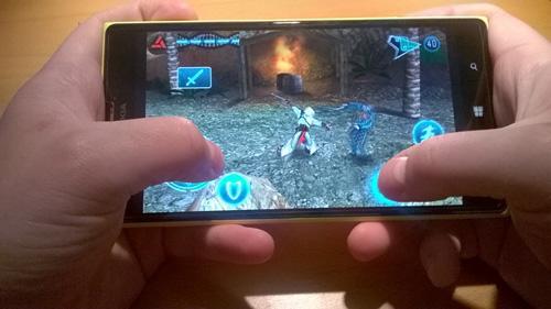 Spielen auf dem Lumia 1520