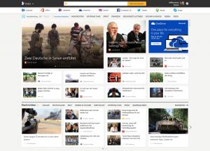 Vorschau der neuen MSN Website