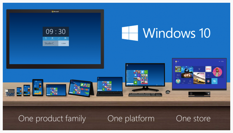 Windows 10 one store