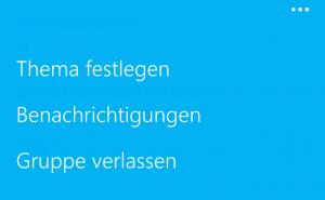App Bar Skype