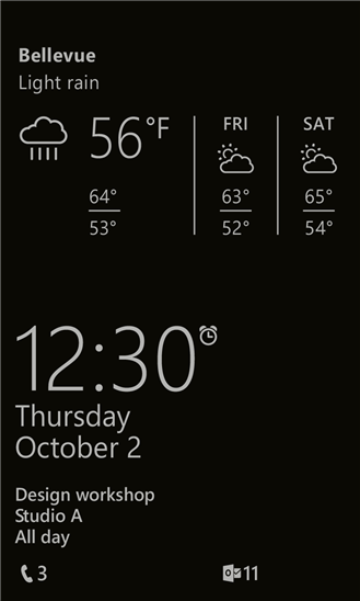 Glance-Screen-Update