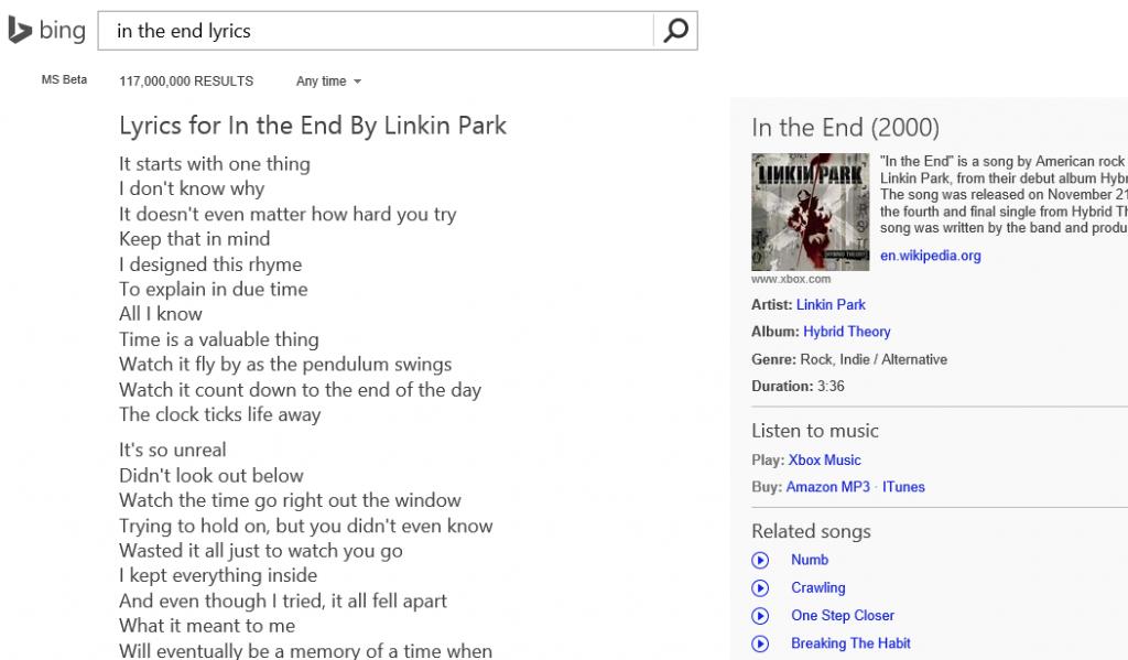 bing-songtext-suche-beispiel