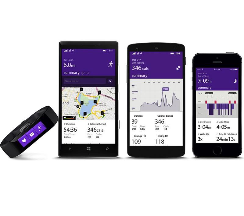 """Microsoft Band - die etwas andere """"Smartwatch"""""""