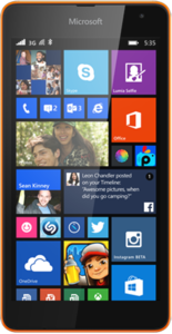 Lumia 535 Spezifikationen