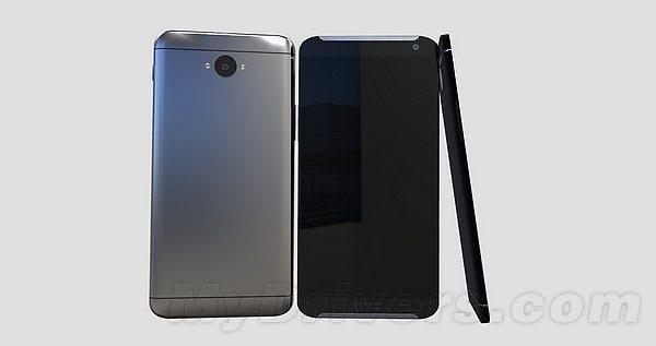 Geleaktes Bild des HTC M9