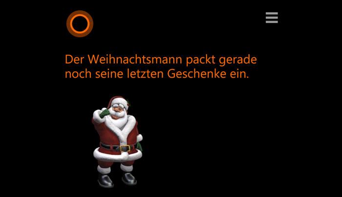 Cortana-Santa