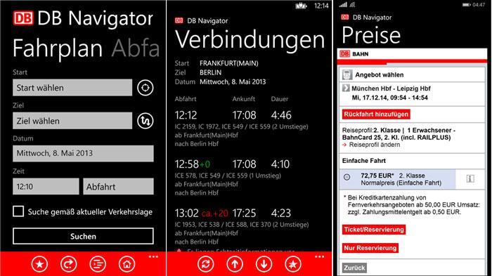 DB-Navigator Windows Phone
