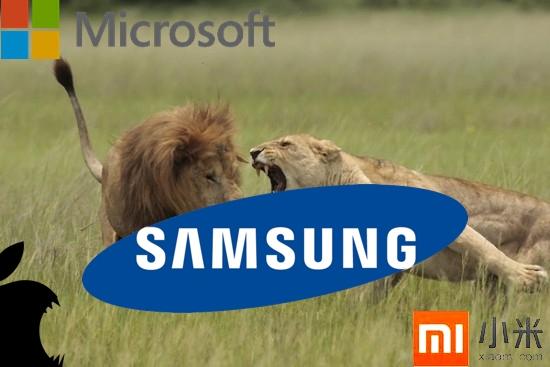 Samsung vs Microsoft Apple Xiaomi