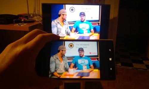 Externe Anzeige: Vom Lumia direkt auf TV