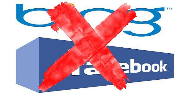 Bing und Facebook machen Schluss