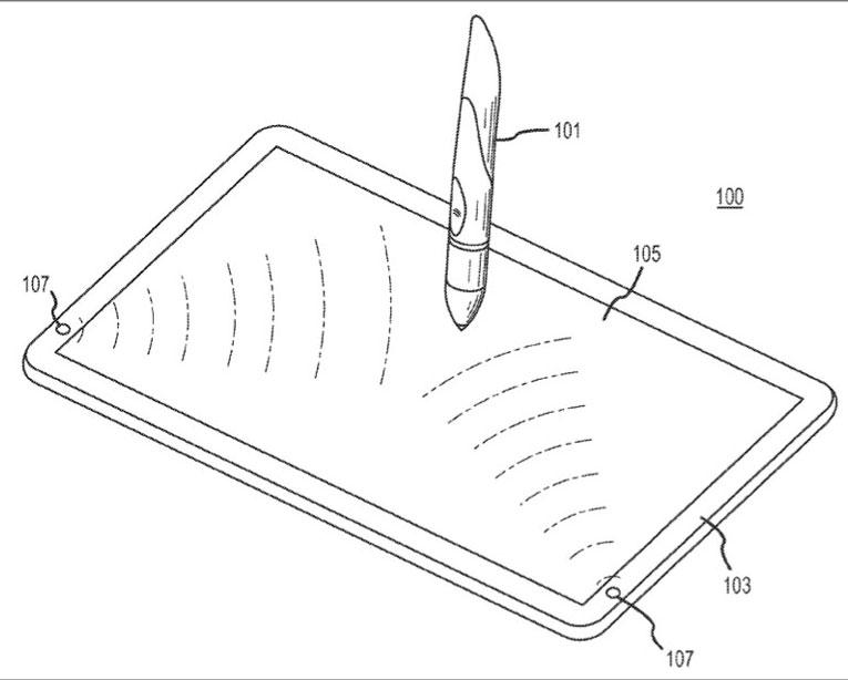 Ein Patentantrag von Apple zeigt ein iPad mit Stylus Stift, der verdächtig nach Penis aussieht.