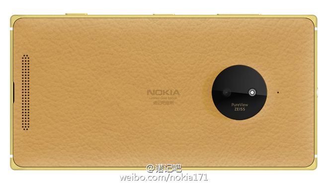 Lumia 830 Gold Leder China