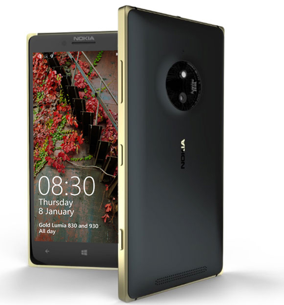 Lumia 830 Gold Sonderedition