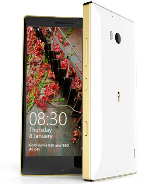 Lumia-930 Gold Sonderedition Europa