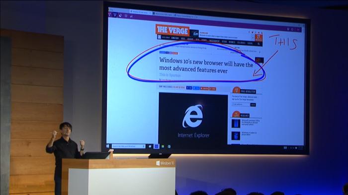 Microsoft-Spartan-Webbrowser