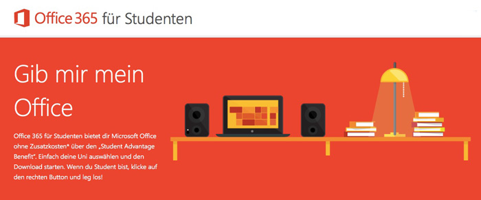 Office-365-Studenten