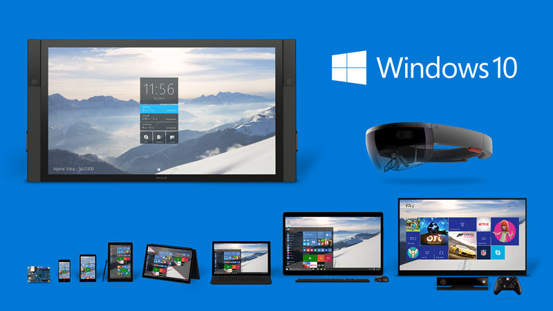 Windows-10-Familie