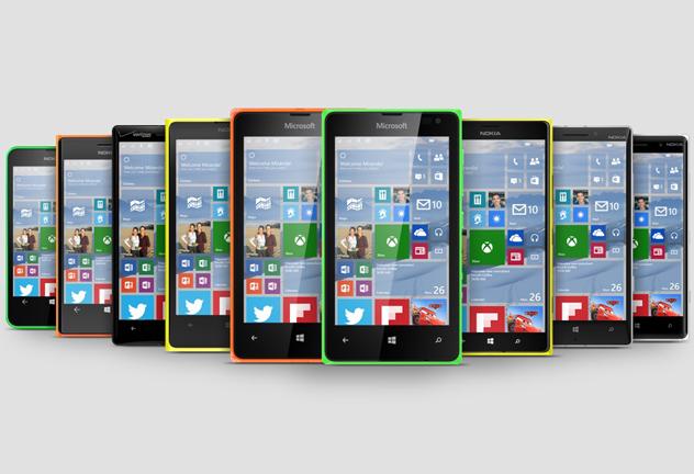 Windows 10 Lumia Phones