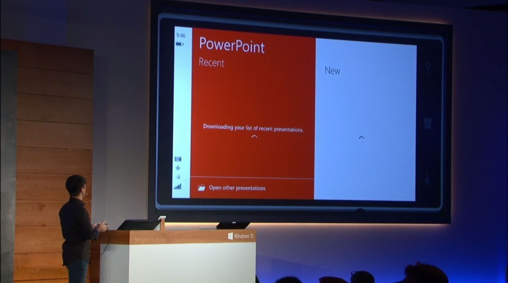 Windows Phone 10 Powerpoint