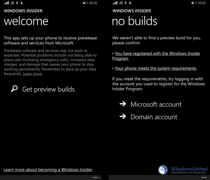 Windows Insider App Windows 10