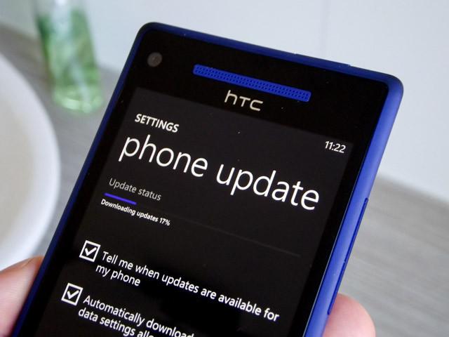 HTC 8X Update 8.1