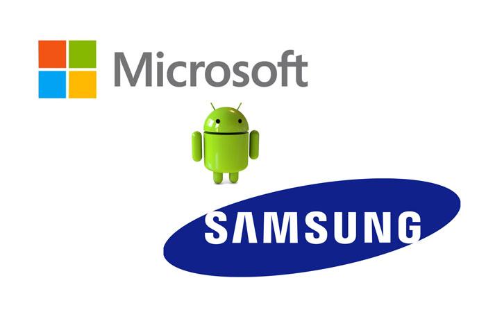 Microsoft-Samsung-Android