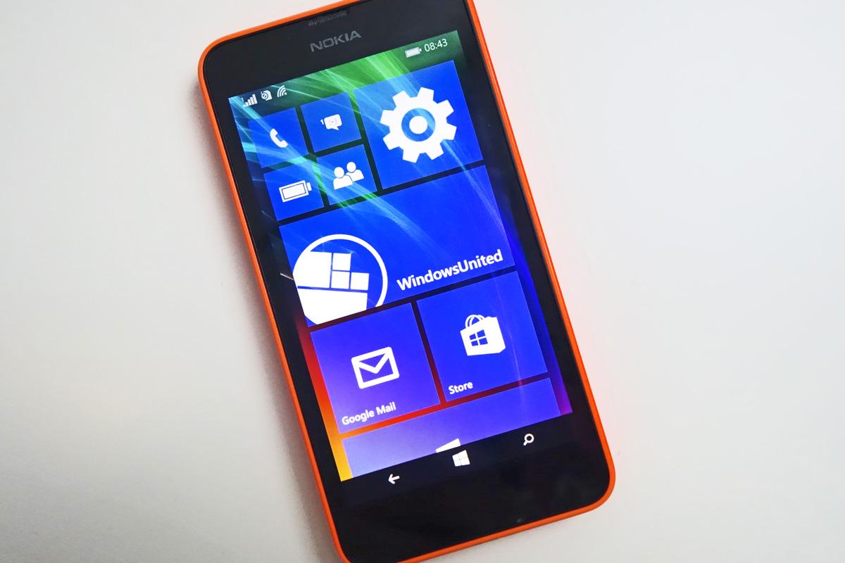 Nokia lumia 630 windows 10