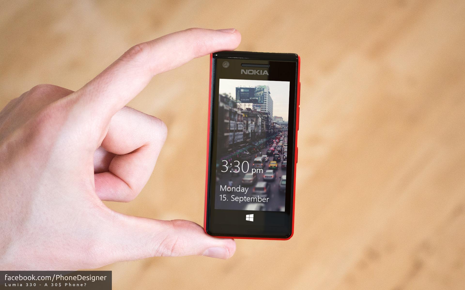 Phone Designer Lumia 330 Konzept