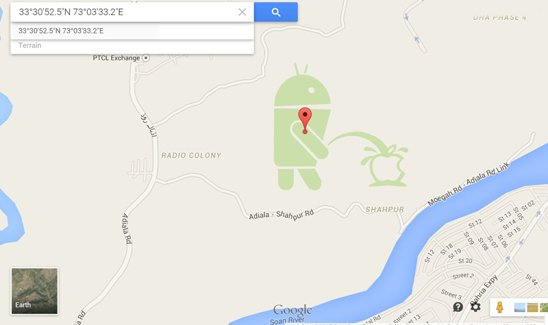 Android-pinkelt-auf-Apple-Google-Maps
