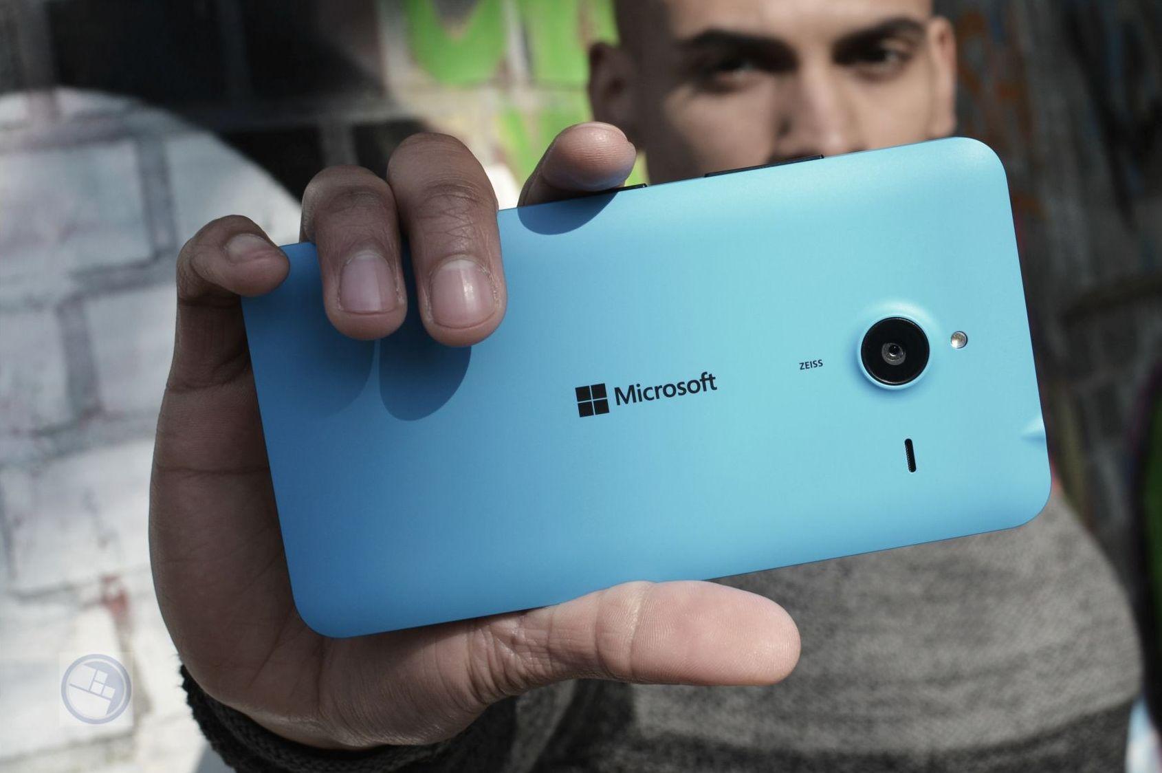 Lumia 640 XL blau