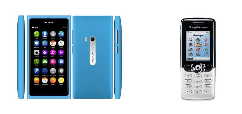 Nokia_N9-Sony-Ericsson-T610