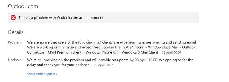 Outlook-Probleme-Fehler-Email