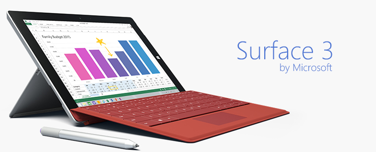 Surface 3 Header WU