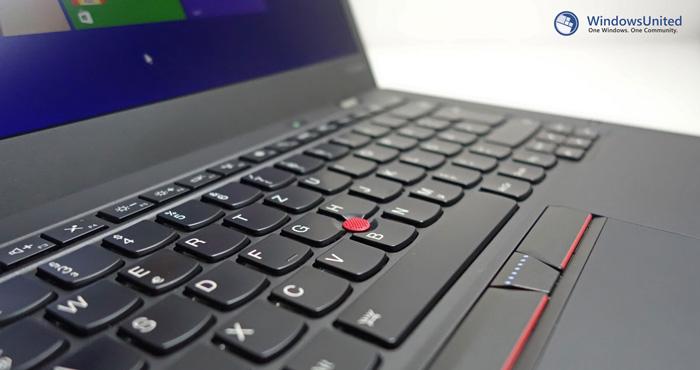 ThinkPad-X1-Carbon-Tastatur