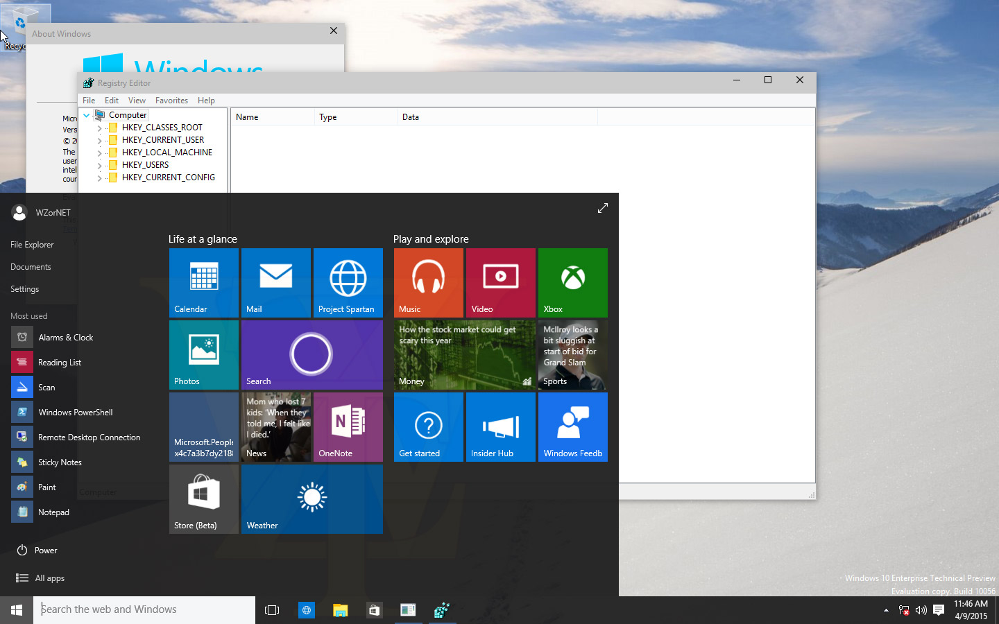 Windows 10 Build 10056 Leak