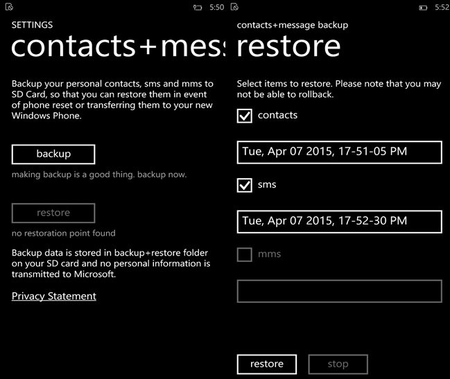 contacts-messaging-backup-Windows-Phone